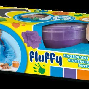 SES Primele culori fluffy pentru pictura cu degetele