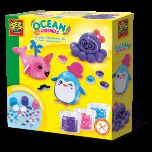 SES Set plastelina - Prieteni Oceanului