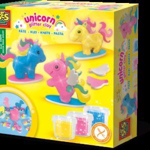 SES Set plastelina - Unicorni